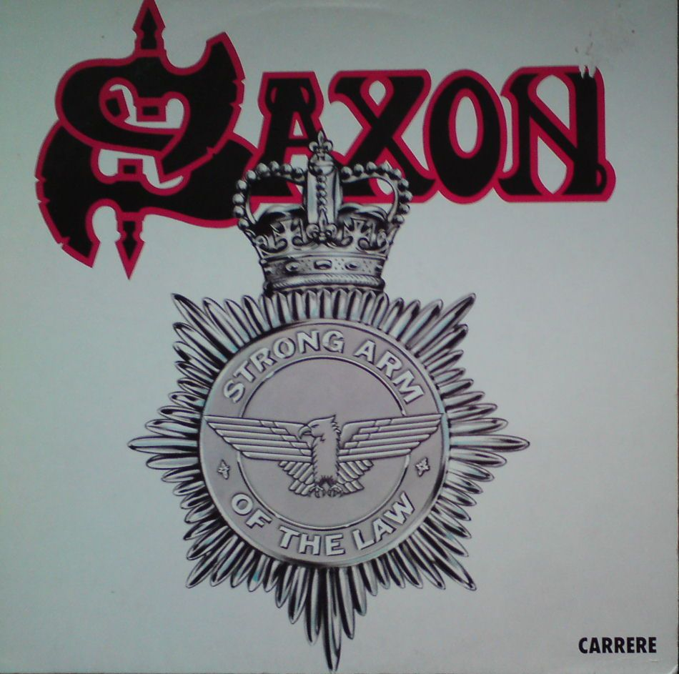 Saxon-strong arm of the law