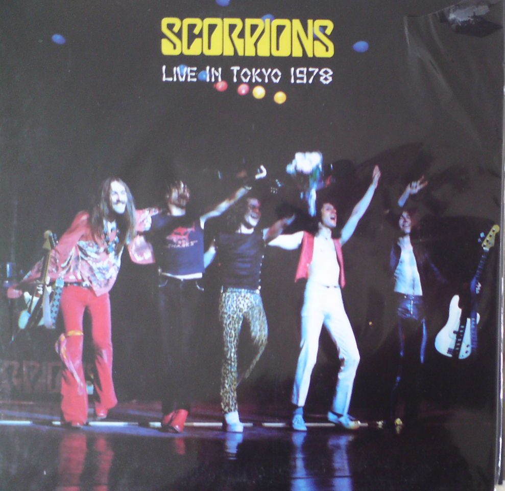 Scorpions-live in Tokyo 1978