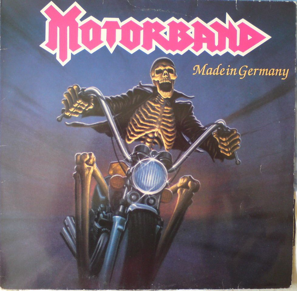 Motorband-made in Germany