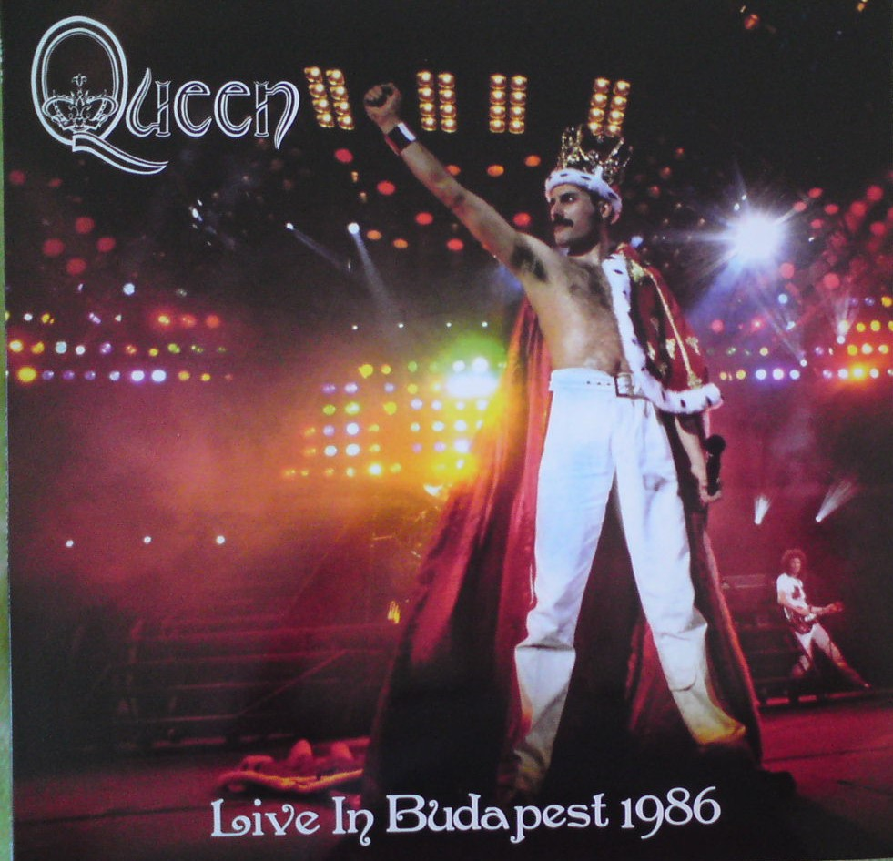 Queen-live in Budapešt 1986