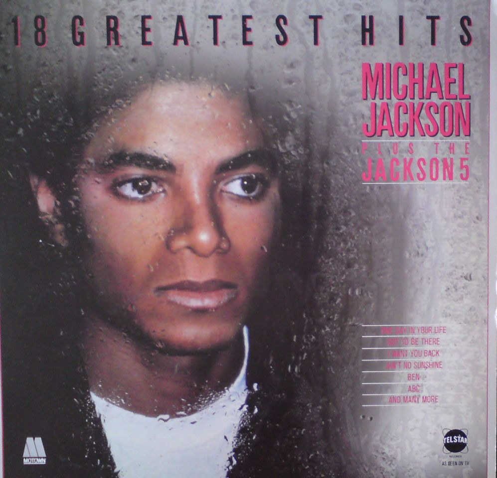 Michael Jakson-18 greatest hits