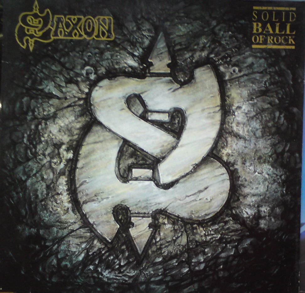 Saxon-solid ball of rock