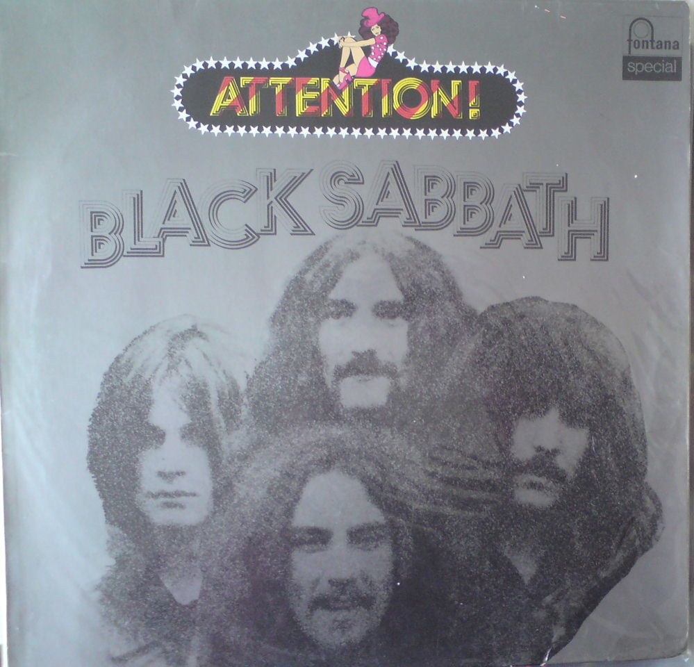 Black Sabbath-attention
